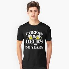 cartoon beer cheers cheers and beers to my 50 years