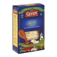 gefen noodles gefen noodles shells of 12 9 oz by gefen snack shop