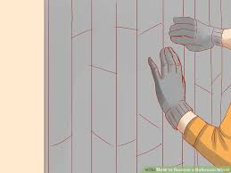 How To Remove Bathroom Mirror How To Remove A Bathroom Mirror 9 Steps With Pictures Wikihow