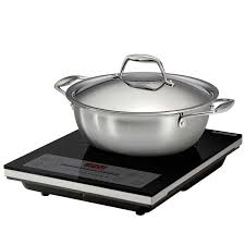 Induction Cooktop Cookware Tramontina 3 Piece Induction Cooking System