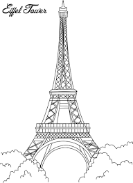 nice eiffel tower sketch became grand article ngbasic com