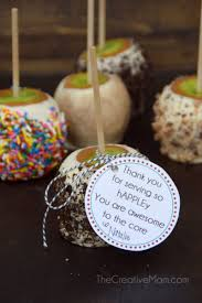 caramel apple party favors how to make candy apples and a free gift tag the creative