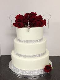 wedding cakes with bling wedding cakes with bling and roses idea in 2017 wedding