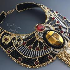collar necklace sale images Shop egyptian collar necklace jewelry on wanelo jpg