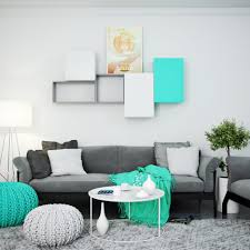 Purple Living Room Ideas by Interior Turquoise And Grey Living Room With Regard To Amazing