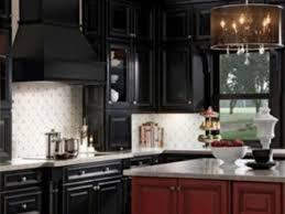 black kitchen backsplash white backsplash with black kitchen cabinets zach hooper photo