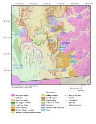 Maps San Diego by Usgs Ca San Diego Hydrogeology