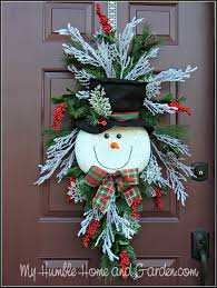tips and how to create a magical snowman wreath my humble home