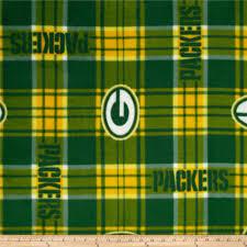 nfl greenbay packers plaid fleece green yellow discount designer