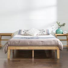 Solid Wood Platform Bed Frame Buy Wooden Platform Beds Zinus Pioneering Comfort Solutions