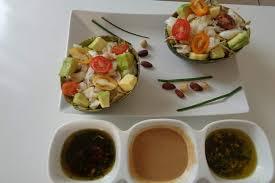 cuisine froide avocat tropical recette plaisir gourmand 3 sauces froides