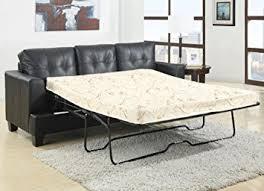 amazon com coaster home furnishings contemporary sleeper black