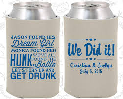 wedding personalized koozies 600 best wedding koozies 3 2016 images on wedding