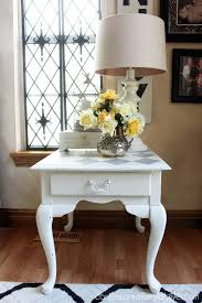 Chalk Paint Side Table Harlequin Painted Side Table Confessions Of A Serial Do It