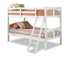White Wooden Bunk Bed Storkcraft Caribou Bunk Bed Hayneedle