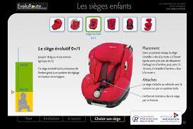 reglementation siege auto bébé comment bien attacher enfant apr