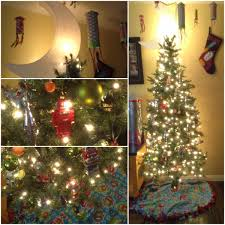 outta this world outer space christmas with moon tree topper