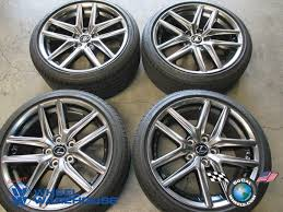 2014 lexus is250 wheels 2014 2016 lexus is250 is350 f sport 18 wheels tires oem rims 74292