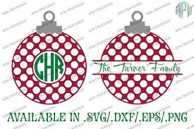 ornaments polka dot svg dxf eps afw designs