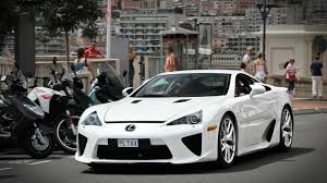 lexus sports car white white car lexus lfa