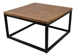 60 x 60 coffee table coffee table mosaic 60x60 cm reclaimed teak metal coffeetables