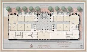 Second Empire Floor Plans New England Chapter The Institute Of Classical Architecture