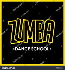 zumba halloween background zumba dance logo aerobic exercise stock vector 550139107