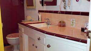marsha saves her peach tile bathroom with help from b u0026w tile