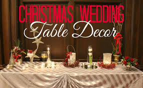bring the intimate into the christmas wedding decorations