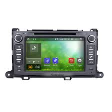 android 7 1 gps navigation system for 2013 2016 toyota sienna xl30
