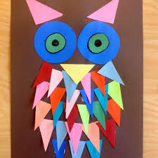 owl art great to discuss shapes my owls pinterest owl