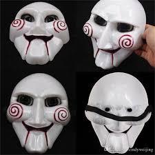 Saw Mask Horror Halloween Mask Saw Mask Puppet Pvc Plastic Masquerade