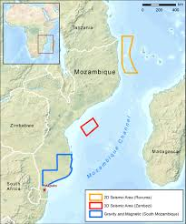Mozambique Map Cgg Awarded Multi Client Projects Offshore Mozambique Pesa