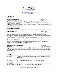 Teen Resume Templates Examples Of Teen Resumes Resume Ex Teen Resume Examples Fast Easy