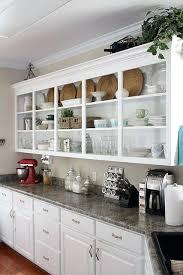 open shelf kitchen cabinet ideas open kitchen cabinets ideas open shelving for a stainless steel