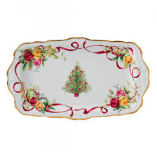 country roses tree sandwich tray discontinued