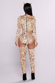cheeky cheetah costume leopard print
