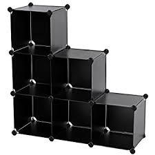 Cubic Bookcase Amazon Com Songmics Storage Cube Closet Organizer Shelf 9 Cube