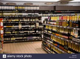 Liquor Display Shelves by A Display Of Alcohol Alcoholic Wine Wines And Liquor Drink