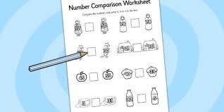 red riding hood number comparison worksheets worksheet