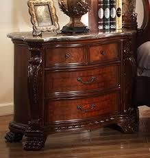 marble top nightstands amazon com