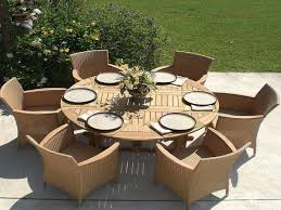 Outdoor Dining Table Plans Free by Impressive Round Outdoor Dining Table 10 Easy Pieces Round Wood