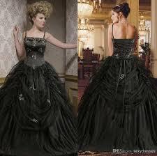 gothic wedding dresses show your personality u2014 memorable wedding