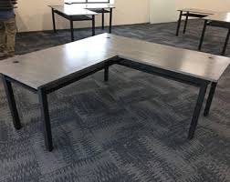 Industrial Table L Desks Etsy