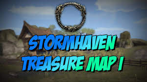 Stormhaven Ce Treasure Map Eso Elder Scrolls Online Stormhaven Treasure Map I 1 Location