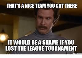 The League Memes - 25 best memes about it would be a shame if meme generator it