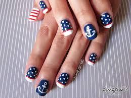 20 beautiful patriotic nautical nail art ideas 2017