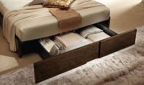 Modern Bed Frame With Storage Alf Soprano Italian Modern Bedroom Set With Storage Drawer