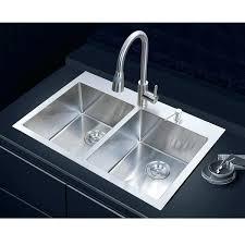 Overmount Kitchen Sinks Overmount Kitchen Sink Stainless Steel In 2 Bowl