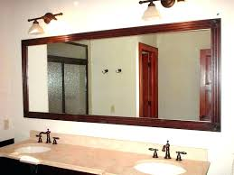 Custom Bathroom Mirror Bathroom Wall Mirrors Large Akapello